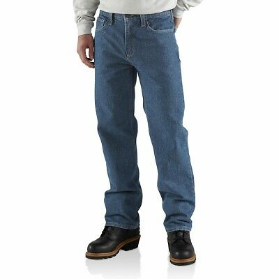CARHARTT FLAME-RESISTANT RELAXED-FIT UTILITY JEAN SIZE 48x30 STYLE NO FRB004