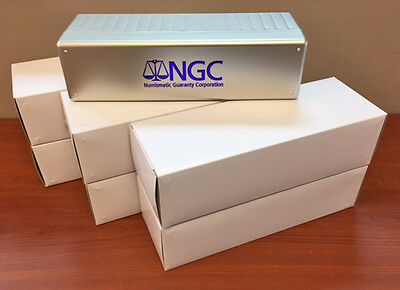 OFFICIAL NGC 20 SLAB BOX for NGC CERTIFIED COINS-#28172 LOT OF 5 BRAND NEW