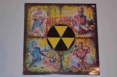 MACABRE Grim Reality Death Metal 1. Press Decomposed Vinyl VG++