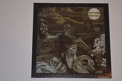 AXEGRINDER Therise Of The Serpentmen Death Metal LP 1. Press 1988 Vinyl VG++