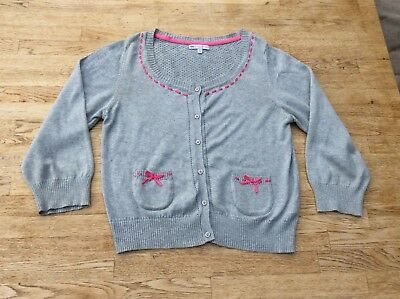 Girls Cardigan By Girls Limited (M&S), Age 13-14, Excellent Condition