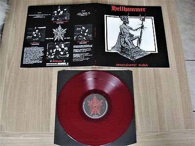 Hellhammer - Apocalyptic Raids ORG LP Red Vinyl 2008  Bathory,Venom,Celtic Frost
