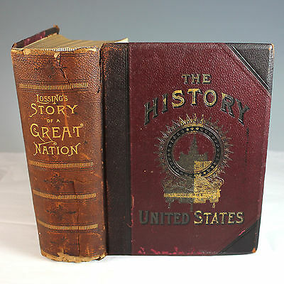 Lossing's Story of a Great Nation Our Country's Achievements 1893