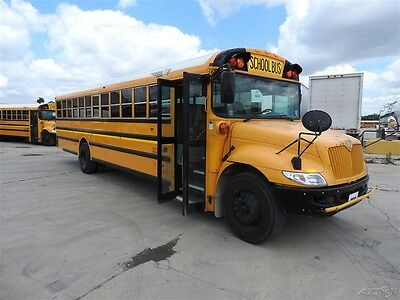 2012 IC CE 71 Passenger Used School Bus Allison Automatic Transmission 130347K3