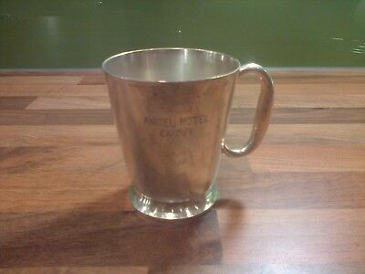 Vintage Mapin & Webb Silver Plated Cup  Angel Hotel Cardiff