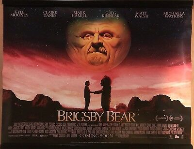 BRIGSBY BEAR Original UK Cinema Quad Poster.