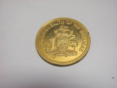 Commonwealth of the Bahamas 1985 $100 Dollar GOLD Coin