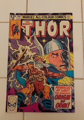 The Mighty Thor #294, 1980 (Marvel US) – Good