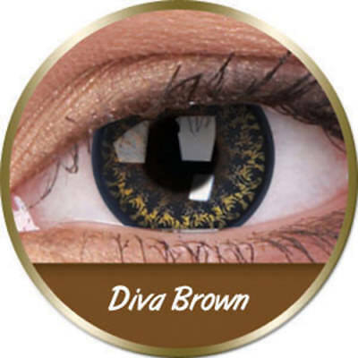 Lenti diva brown marrone Phantasee (3 mesi) Phantasee
