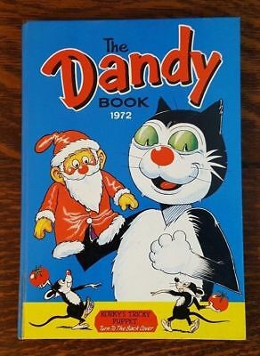 Vintage Dandy Comic Book THE DANDY ANNUAL 1972  Desperate Dan Korky the Cat