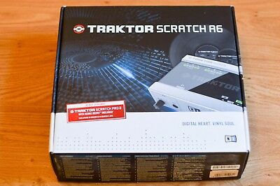 Native Instruments Traktor Scratch A6 DJ Software Package