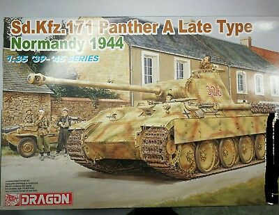 Panther A late, 1/35 dragon