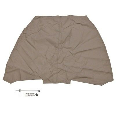 Crestliner Boat Bow Cover 2205292 | 1750 Or 1850 Super Hawk Dark Sand