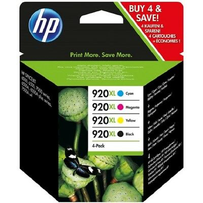Hp 920Xl Multipack Original Officejet 6000Se 6500A 7000 7500A Drucker Patrone