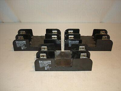 *LOT* (3) Ferraz Shawmut 60607R Fuse Holder 60A 600V *NEW*