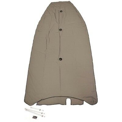 Lund Boat Cockpit Cover 2125813 | 2010 Pro Guide LC WM 14 w/ Flap Gray