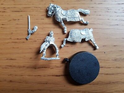 Lord of the Rings Theoden in Armour Mounted Metal OOP