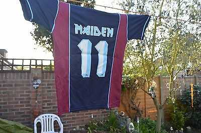 Iron Maiden World Tour 2011   T-Shirt....new,small,heavy Metal.....whu Colours