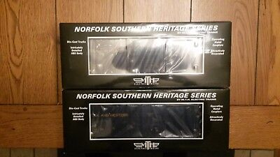 2 Mth Norfolk Southern Heritage Series N&w 50' High Cube Box Cars 20-93571 New