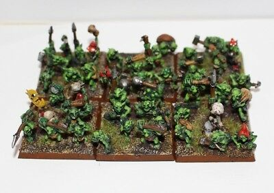 Snotlings Painted - warhammer fantasy orcs and night goblins grots moonclan