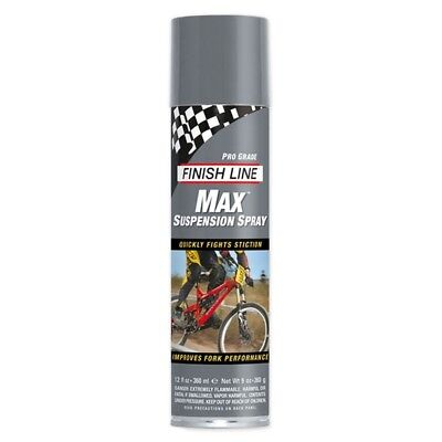 Finish Line Aceites Y Lubricante Bicicleta Lubricante Max Suspension Spray 12Oz
