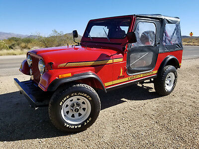 1986 Jeep CJ Renegade Liberty Edition 1986 Jeep CJ7 *LIBERTY EDITION* with 6196 miles!