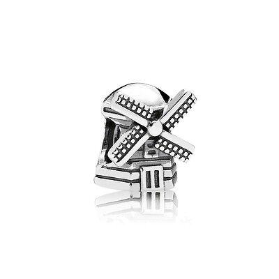Authentic Pandora Charm Sterling Silver 791297 Windmill Bead