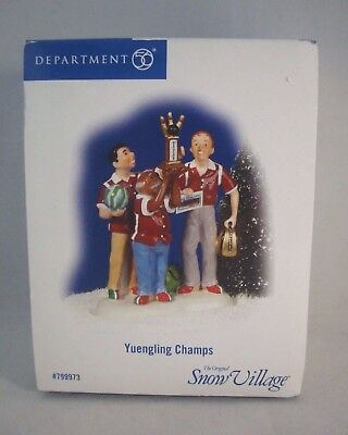 Department Dept. 56 * Yuengling Champs * Bowling * Snow Village * New In Box