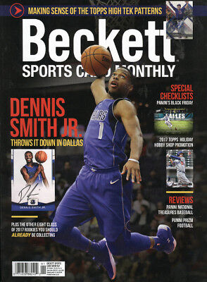 New Beckett Sports Card Monthly Price Guide #394 January 2018