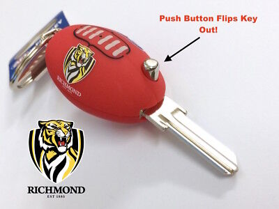 Richmond Tigers Football FLIP House Key Blank -IN STOCK NOW! Free Postage