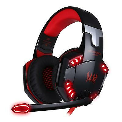 Casque Gaming Micro ArkarTech G2000 Casque Filaire PC Microphone Headset...