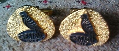Wests NCLE Rugby Rosella Parrot Cufflinks