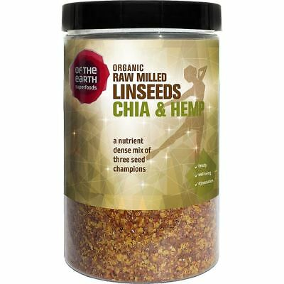 Of The Earth Organic Milled Linseed Chia Hemp 180g