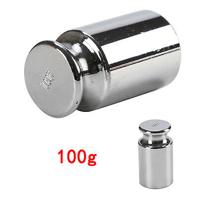 Precision Plated Steel Calibration Weight Digital Pocket Scale Set 100g Grams UK
