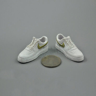 "1//6 Scale Female Sport Shoes Trainers Beige for Female 12/"" Action figure"