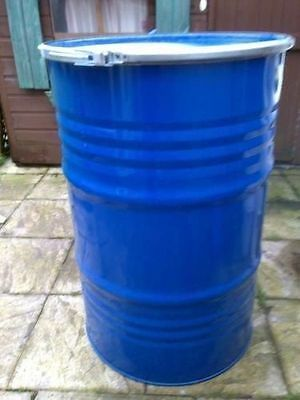 Steel Drum 45 Gallon 205 Litre Drum Storage, Burning, Water Butt Bbq, Composter