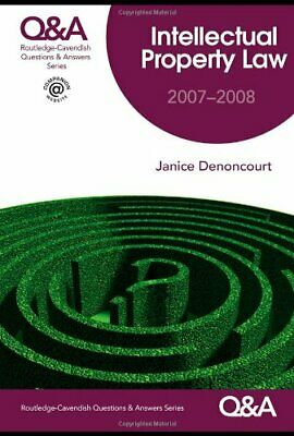 Q&A Intellectual Property Law (Questions and ... by Denoncourt, Janice Paperback