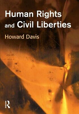 Human Rights and Civil Liberties by Davis, Howard Paperback Book The Cheap Fast