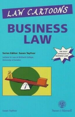 Law Cartoons: Business Law by Tayfoor, Susan Paperback Book The Cheap Fast Free