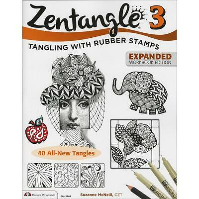 Design Originals Zentangle 3 Expanded Edition Rrp$16.10