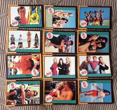 Beverly Hills 90210 Trading Cards Collectable 90's Shannen Doherty Luke Perry