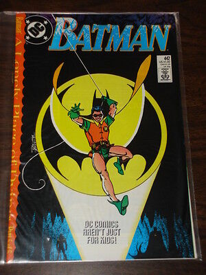 Batman #442 Dc Comics Dark Knight Nm Condition December 1989