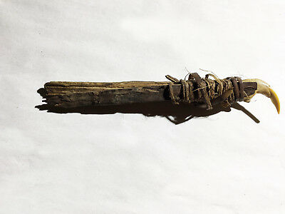 interesting tribal tool for carving arrows Star Mnts Papua (New Guinea)