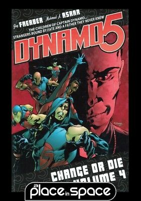 Dynamo 5 Vol 04 Change Or Die - Softcover