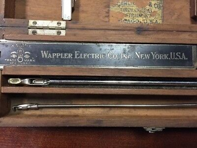 MEDICAL QUACKERY: Brown-Buerger Cystoscope Urological Instrument - Original Case