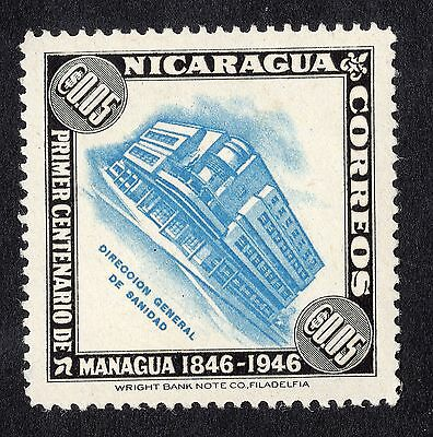 1947 Nicaragua 5c Health Ministry SG 1086 MOUNTED MINT R19805