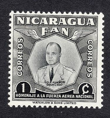 1954 Nicaragua 1c National Air Force Capt D L Ray SG 1209 MOUNTED MINT R19814