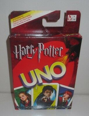 NEW Harry Potter Uno Card Game 2005 Original, very rare, unopended