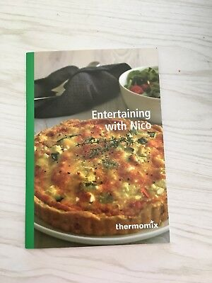 Thermomix Entertaining With Nico Booklet