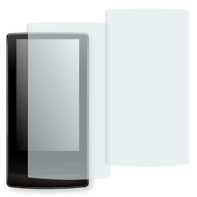 2x Golebo Crystal screen protector for Cowon J3